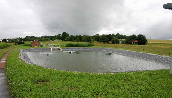 Kommunale kl ranlage oberleuken - Lagunage des eaux usees ...